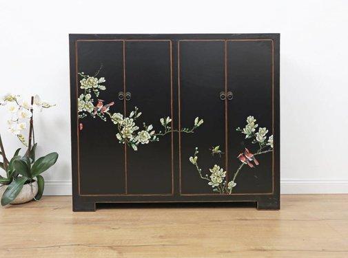 Yajutang Shoe cabinet hand-painted pattern