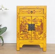 Yajutang Chinesische Kommode chinesisch gelb