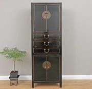 Yajutang Chinese dresser wedding cabinet black