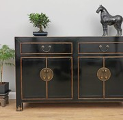 Yajutang Chinese sideboard chest of drawers black