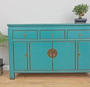Yajutang Chinese sideboard dresser turquoise