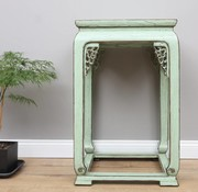 Yajutang Shelf flower column side table mint