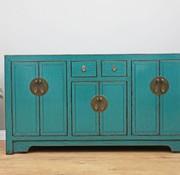 Yajutang Chinese sideboard 6 Türen 2 Schubladen turquoise