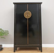 Yajutang Chinese Wedding Cabinet 2 Doors  black