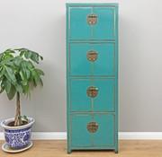 Yajutang Wedding cupboard 8 doors turquoise