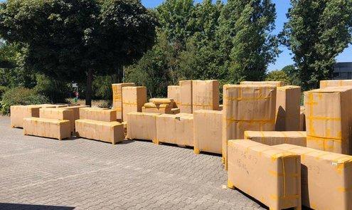Neuer Container eingetroffen