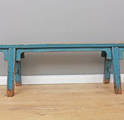 Yajutang Antique Chinese bench blue