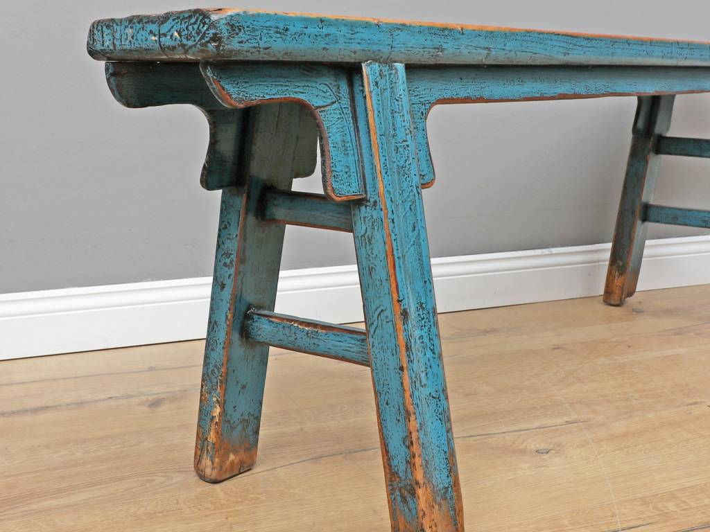 Admirable Yajutang Antique Chinese Bench Antique Wooden Bench Blue Unemploymentrelief Wooden Chair Designs For Living Room Unemploymentrelieforg