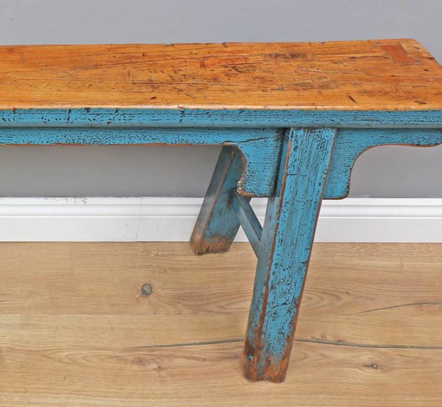 Outstanding Antique Chinese Bench Blue Yajutang Mobel Gmbh Unemploymentrelief Wooden Chair Designs For Living Room Unemploymentrelieforg