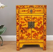 Yajutang Dresser 1 drawer 2 doors painted