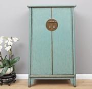 Yajutang Wedding cabinet 2 doors light blue