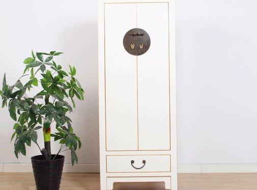 Yajutang Wedding cabinet 2 doors 1 drawer white