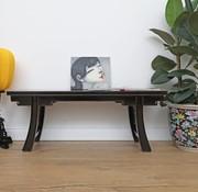 Yajutang Tisch Couchtisch Sofatisch Opium Massivholz schwarz