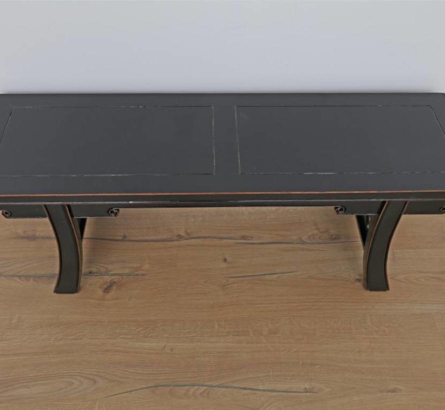 Tisch Couchtisch Sofatisch Opium Massivholz schwarz