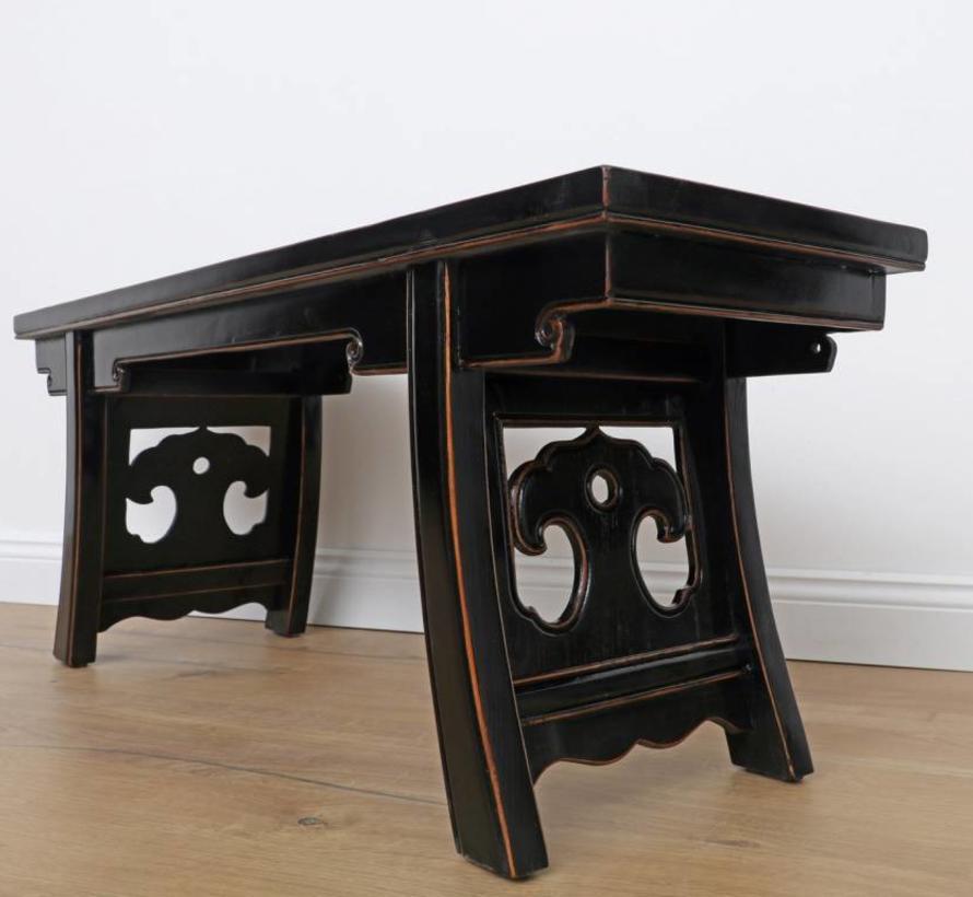 Table Coffee table Sofa table Opium solid wood black