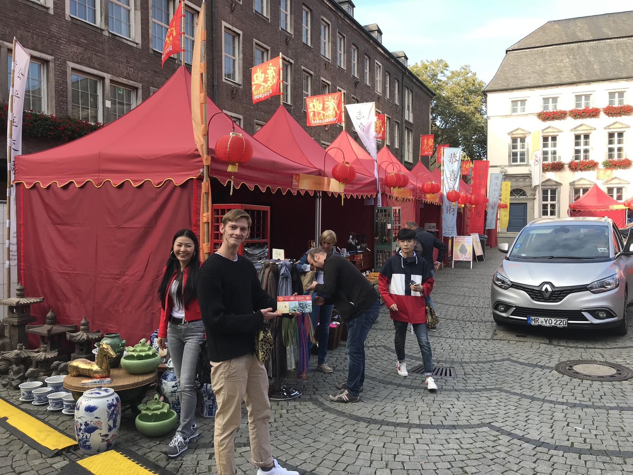 Yajutang Team Chinafest Düsseldorf 2018