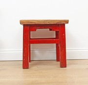 Yajutang Stool flower table side table red