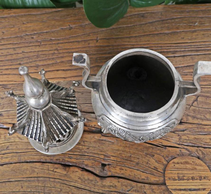 Pagode Censer Räuchergefäß Incense Burner Rauchverzehrer Rauchfaß