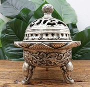 Yajutang elephant censer smoke collector barrel