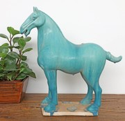 Yajutang Tang-Pferd Terrakotta türkis