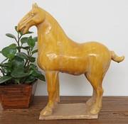 Yajutang Tang-Pferd Terrakotta gelb