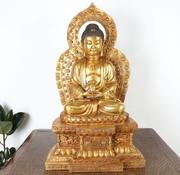 Yajutang Amitabha meditating blessing Buddha