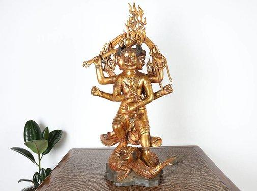 Yajutang Vajrayaksta ist ein Weisheitskönig Buddhismus