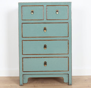 Yajutang Chinese chest of drawers Asian grey