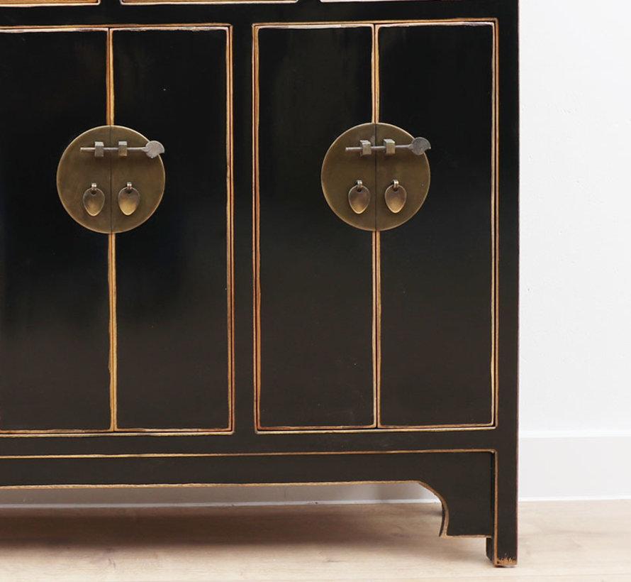 Chinese dresser  Oriental / Asian style black