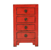 Yajutang Antique chest of drawers 4 drawers red