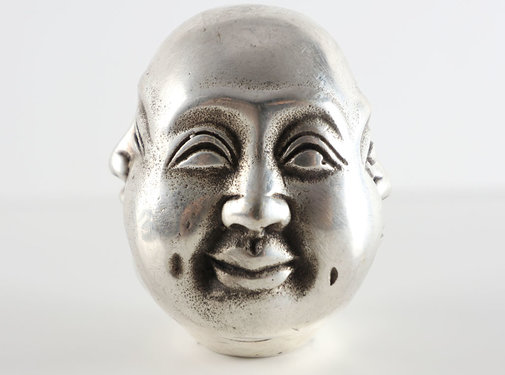 Yajutang Buddha head with four emotions mood