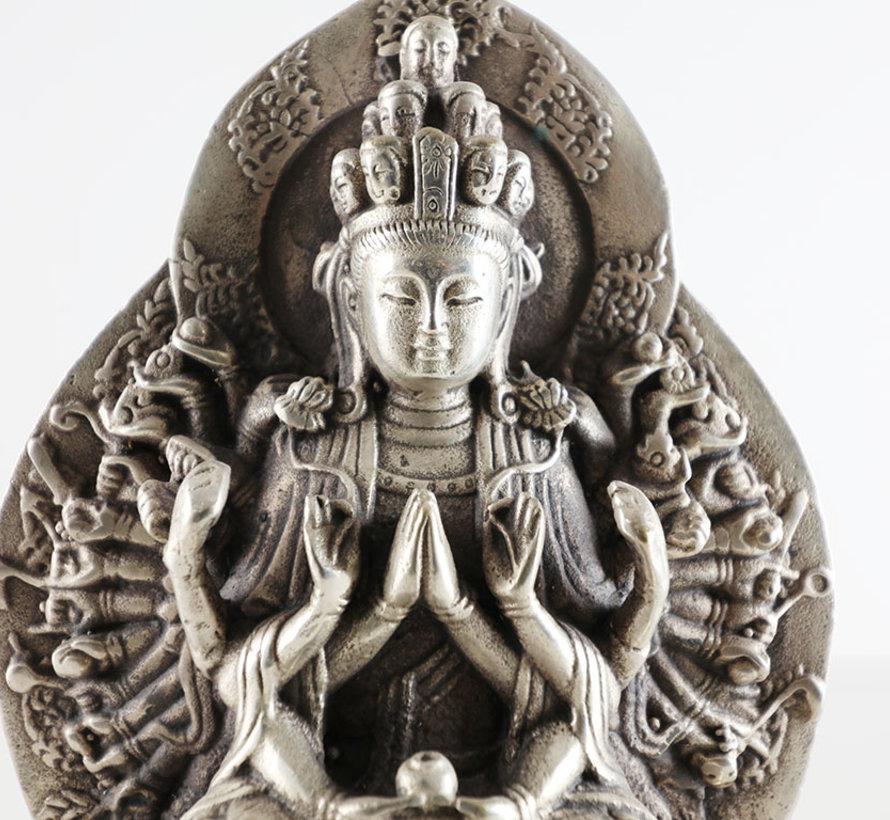 Avalokiteshvara of the Bodhisattva of Compassion Sanskrit goddess