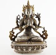 Yajutang Avalokiteshvara & four arms Bodhisattva