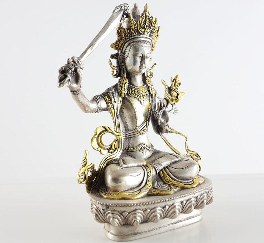 Manjushri of knowledge and learning Buddha of wisdom