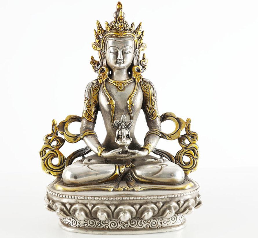 Amitayus Buddha des unendlichen Lebens Gottheiten des langen Lebens