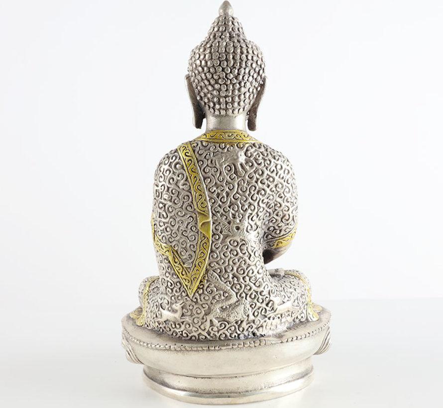 Amitabha  the Buddha of meditating blessing embracing love
