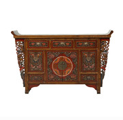 Yajutang Antique sideboard with carvings