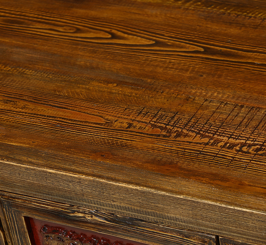 Antique sideboard from China with carvings