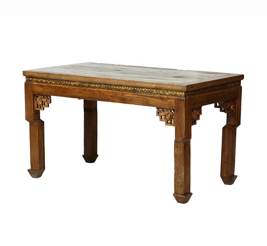 Chinesisches Tisch und Stühle Set Massivholz aus China