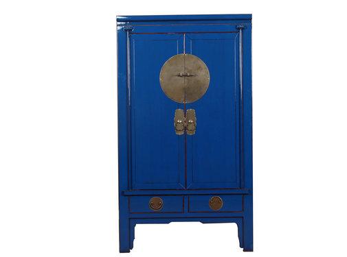 Yajutang Chinese wedding cabinet blue