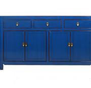 Yajutang chinesisches Sideboard Kommode blau