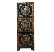 Yajutang Cabinet with hand painting black