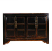 Yajutang Antikes Sideboard 4 doors black
