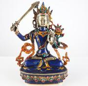Yajutang Buddha Göttin Grüne Tara Messingfigur