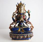 Yajutang Avaloketesvara Vier bewaffnete Chenrezig