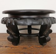 Yajutang Wooden base coaster small table Ø27