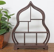 Yajutang Curio wooden shelf decorative shelf 34cm