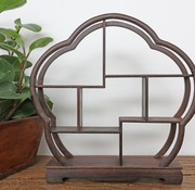 Yajutang Curio wooden shelf decorative shelf 30cm