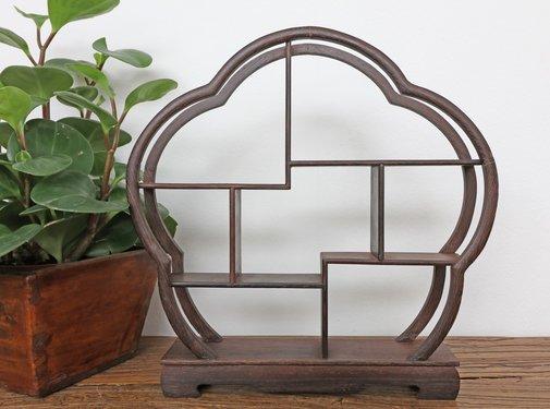 Yajutang Curio wooden shelf decorative shelf 30cm
