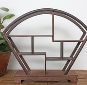 Yajutang Curio wooden shelf decorative shelf 28cm